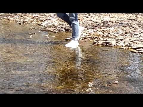 Wetlook Crazyforwetness: Toria in wet Converse