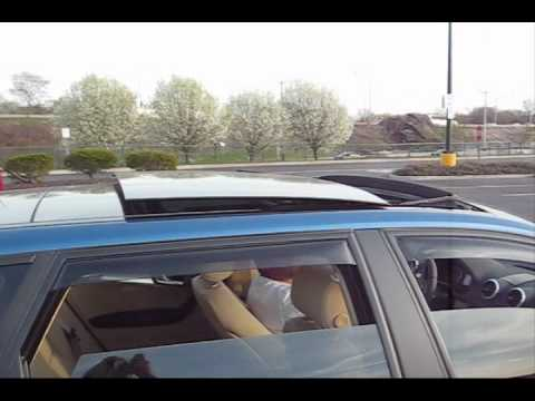 Audi A3 Tdi Panoramic Sunroof Function And Demonstration