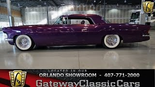 1956 Lincoln Mark II Gateway Classic Cars Orlando #106