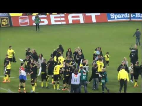 Meister 2012 Borussia Dortmund - Gladbach Meisterjubel BVB 2012