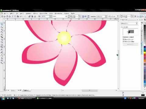 flor corel draw youtube