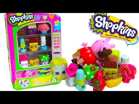 Shopkins Vending Machine Playset with 2 Exclusive Shopkins Peppa Pig