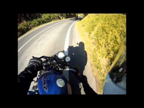 Hornet 600 going straight to Cabo da Roca