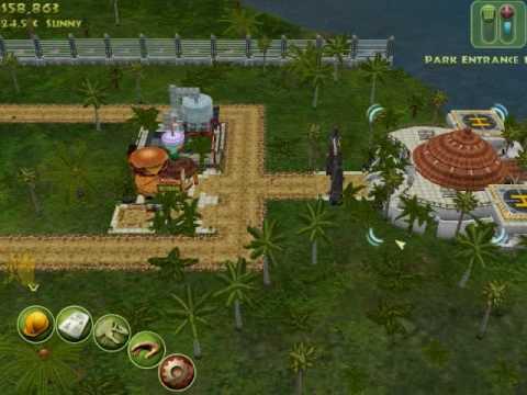 Jurassic Park Operation Genesis - Building a Park Part 1