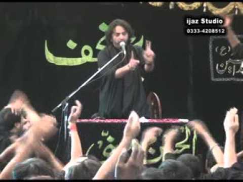 Allama Nasir Abbas Multan Reza E Najaf 09 Muharram 2013 video