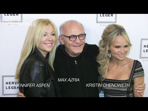 Nina Dobrev, Kristin Chenoweth, Poppy Montgomery At Herve Leger Fall 2012 - Nyfw | Fashiontv - Ftv video