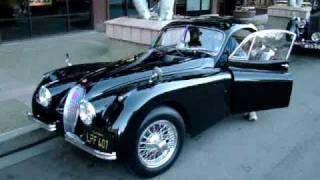 1953 Jaguar XK120 in La Jolla Ca. #1