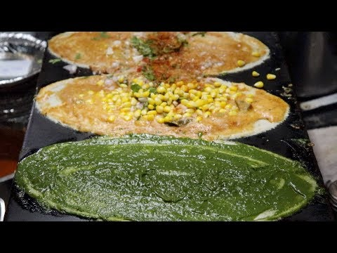 Top 10 Varieties Dosa Recipe In Hyderabad | Dosa Festival | Indian Street Food | Best Breakfast