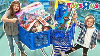 "Toys""R""Us SURPRISE HOLIDAY SHOPPING SPREE!! 
