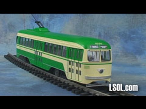 Garden Trains: Aristo-Craft PCC Trolley