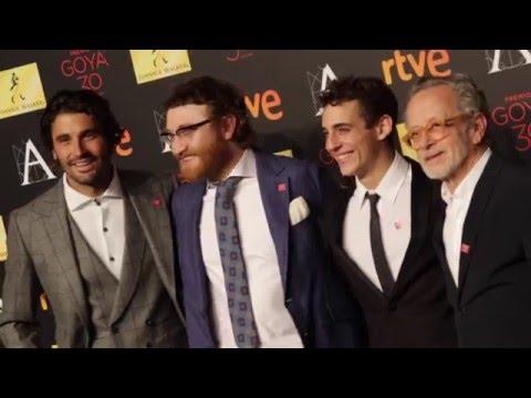 Photocall Cena de los Nominados Premios #Goya2016