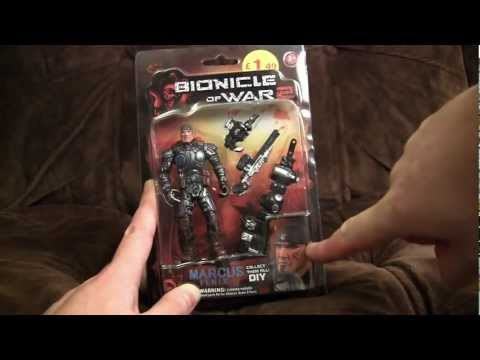 Bionicle Of War 2: Fake Gears Of War Figures | Ashens