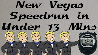 Fallout: New Vegas Beaten in Under 13 Minutes (Heavy Commentary - Any% Speedrun)