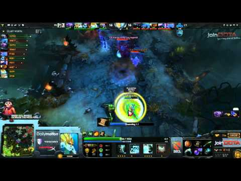 Cloud 9 vs Power Rangers Game 2   Dota 2 Champions League TobiWanDOTA  Clairvoyance