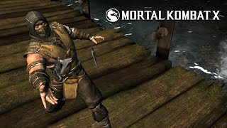 Mortal Kombat X - Inferno Scorpion Level 1 2 3 Super Moves   Spear   Minion Assist   From Hell