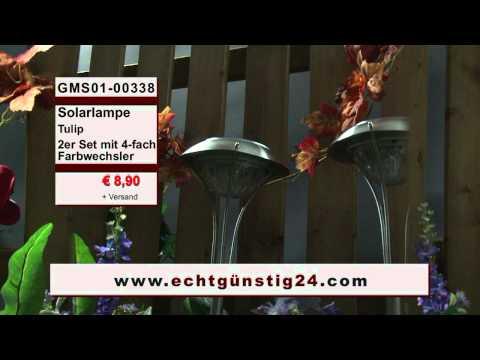 12x große 82cm Edelstahl Solarlampe Gartenlampe Solarlampen Stablampe Solarlicht