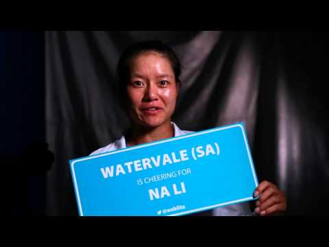 Li Na thanks Watervale - AO Blitz