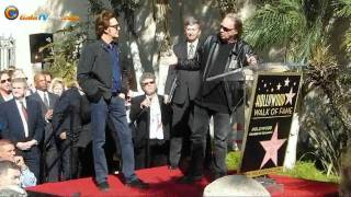 Paul McCartney  is immortal with his star in Hollywood! GalaTView has unique images!!