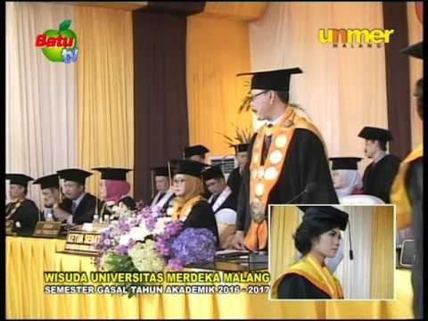 UMER MALANG-WISUDA SEMESTER GASAL TAHUN AKADEMIK 2016-2017