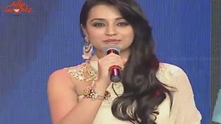beautiful-trisha-cute-speech-lion-audio-launch-balakrishna-trisha-krishnan