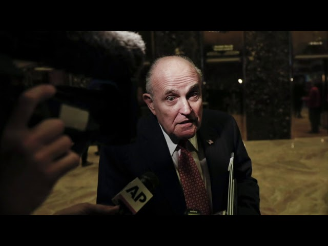 Analysis: Giuliani Adds To Trump's Legal Woes