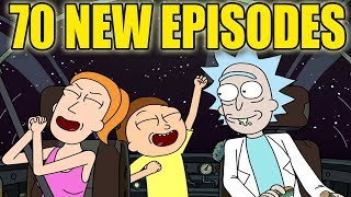 Rick and Morty | 70 New Episodes Coming | Season 4 & Beyond