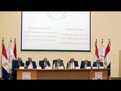 Egypt announces October date for parliamentary election