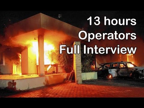 13 hours Benghazi - Operators  Full Interview
