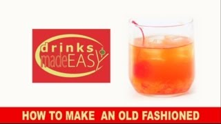 How To Make A Modern Old Fashioned Cocktail   Drinks Made Easy