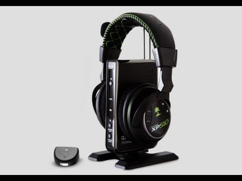TURTLE BEACH EAR FORCE XP510 UNBOXING