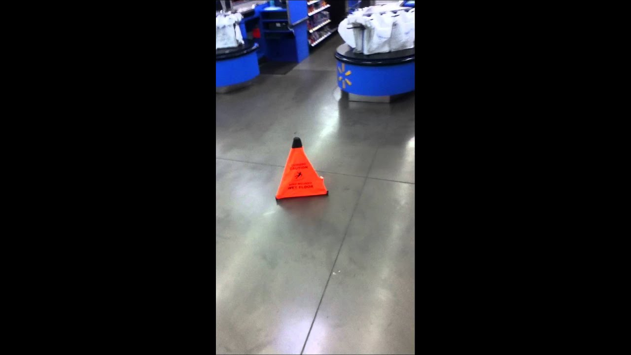 Someone pooped on the floor at wal mart youtube for Floor someone