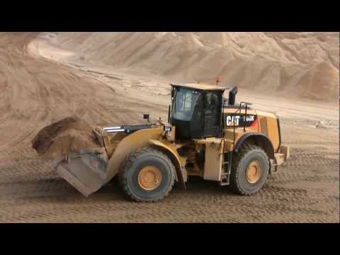 Cat 980K, Volvo L220G And Volvo EC290B Digging A New Road
