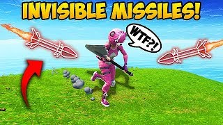 NEW *INVISIBLE* GUIDED MISSILE TRICK! - Fortnite Funny Fails and WTF Moments! #276