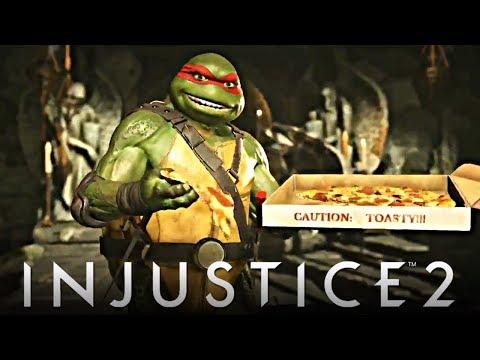 Injustice 2: NEW Teenage Mutant Ninja Turtles Gameplay Trailer!!