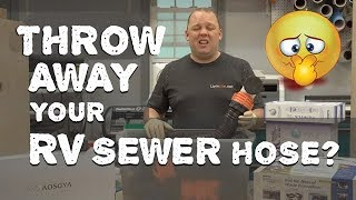 Throw Away Your Sewer Hose? - Thetford Sani-Con Turbo Installation & Detailed Review