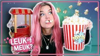 Popcorn Machine | LEUK OF MEUK?