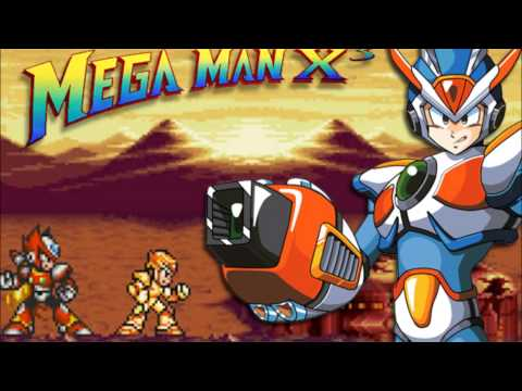 Misc Computer Games - Mega Man X - Intro Stage