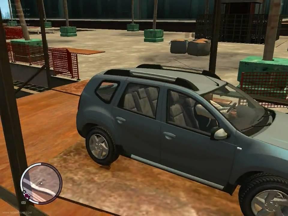 Gta 4 Eflc Gameplay Gta 4 Eflc Dacia Duster Test