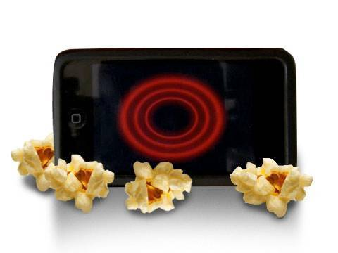 iPhone App makes popcorn!