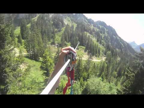 La Vallée des Tyroliennes de Charmey Aventures