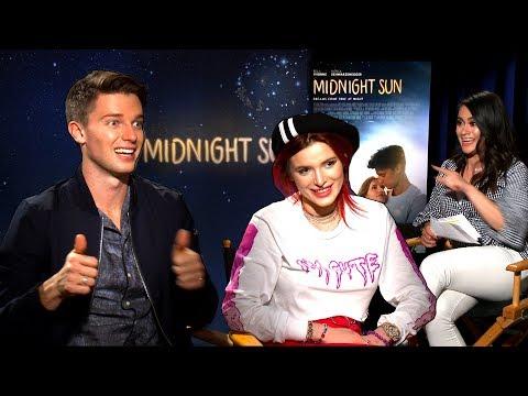 ¡Bella Thorne y Patrick Schwarzenegger Comparten Besos en Midnight Sun!