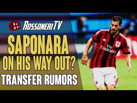 SAPONARA ON HIS WAY OUT? | AC Milan Transfer Rumors | (08/01/2015)