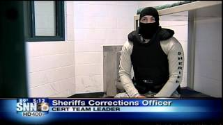 SNN: When Inmates get Uncooperative at Charlotte County Jail, the Jail Turns to the CERT Team