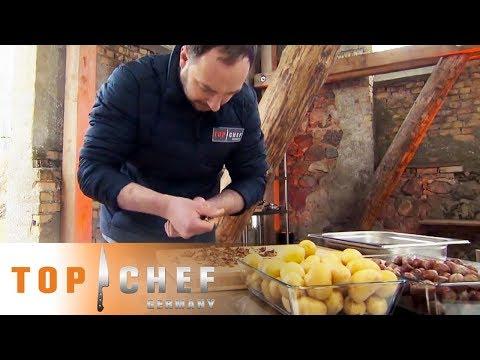 Es geht um Hundertstel: Eine Nuss entscheidet die Halbfinal-Challenge | Top Chef Germany | SAT.1 #1