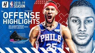 Ben Simmons 5 Year $170M Contract Extension! BEST Highlights & Moments from 2018-19 NBA Season!