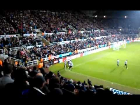 Shola Ameobi goal against QPR 22.12.2012.mp4