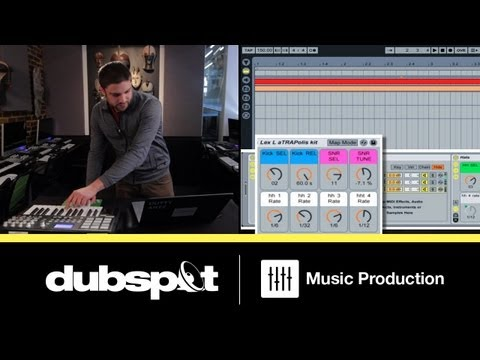 Ableton Live Tutorial: Trap - How to Build an Instrument Rack for Drum Programming
