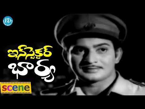 Inspector Bharya Movie Scenes - Krishna Catches Fake Currency Notes Team || Krishnam Raju