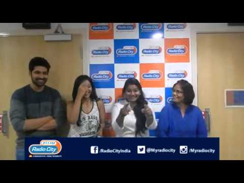 Rapid Fire Round with PADESAAVE Team at Radiocity Hyderabad