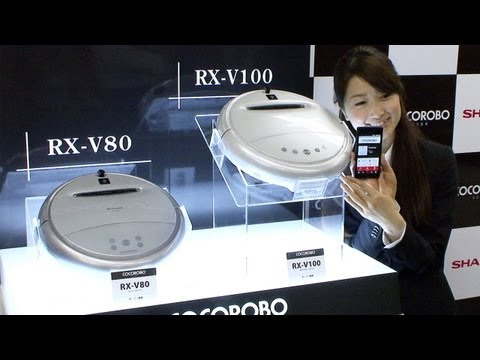 Cocorobo intelligent vacuum cleaner robot communicates with its owner #DigInfo